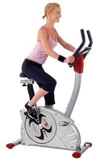 Christopeit ET 6, Fahrrad Heimtrainer für Fitness und Wohlbefinden