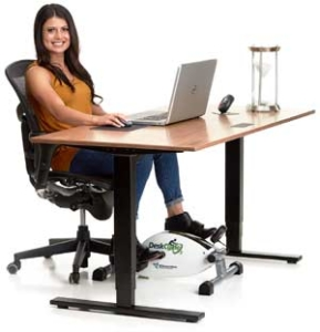 Mini Heimtrainer für Senioren - Training am Schreibtisch