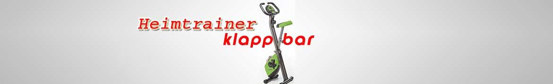 Heimtrainer klappbar / faltbar