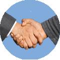 Mini Heimtrainer für Senioren Handshake